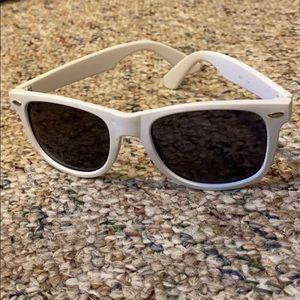 Claire's White Sunglasses